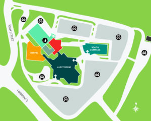 LBC Campus Map