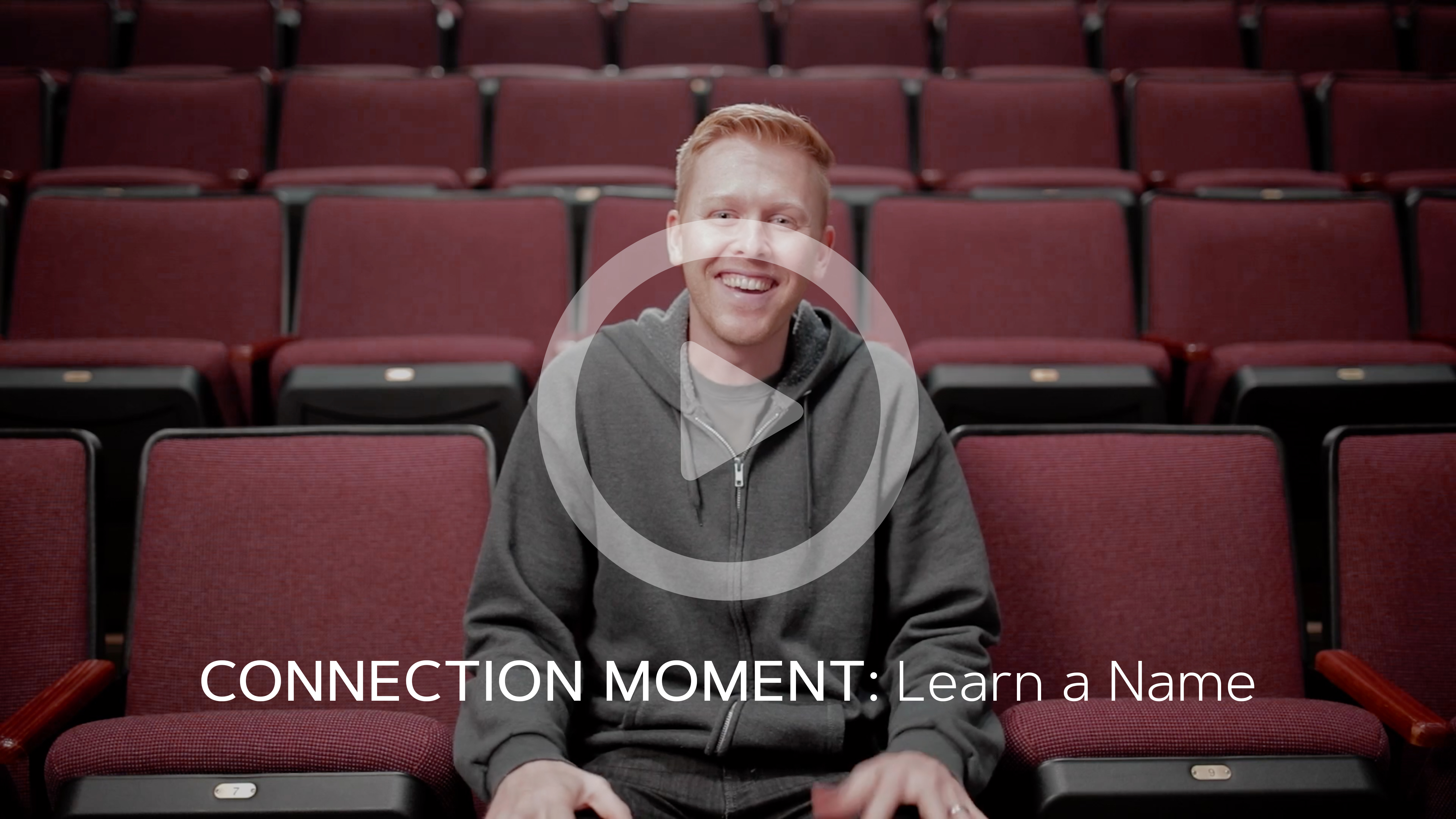 Connection Moment: Learn a Name